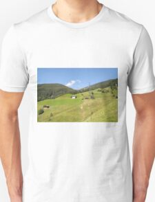 Remote alpine farmhouse photographed in Tirol, Austria  T-Shirt