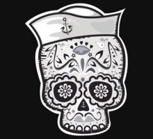 Marinero muerto sugar skull One Piece - Short Sleeve