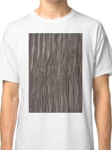 Brown fabric texture Classic T-Shirt