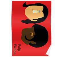 Pulp Fiction- Main Characters Poster