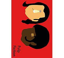 Pulp Fiction- Main Characters Photographic Print