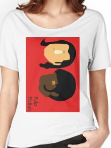 Pulp Fiction- Main Characters Women's Relaxed Fit T-Shirt