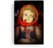 The Little Peasant Girl Canvas Print