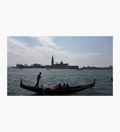 Venice Gondola Photographic Print