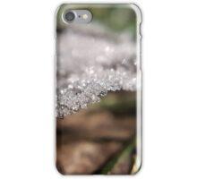 Frosty Leaf iPhone Case/Skin