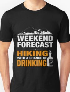 LTD - WEEKEND FORECAST - HIKING T-Shirt