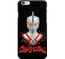 LOW POLYGON PORTRAIT - ULTRAMAN ACE iPhone Case/Skin