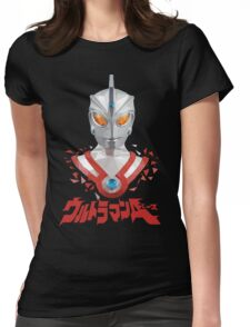 LOW POLYGON PORTRAIT - ULTRAMAN ACE Womens Fitted T-Shirt