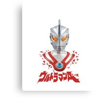 LOW POLYGON PORTRAIT - ULTRAMAN ACE Canvas Print