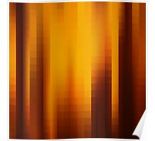 abstract square pattern Poster