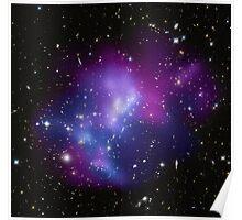 The massive galaxy cluster MACS J0717. Poster