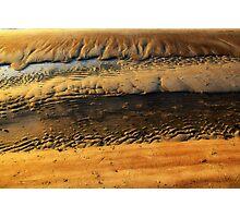 coast in ice Photographic Print