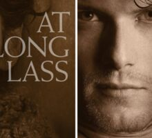 Outlander/Jamie & Claire/Some like it Scot/At long lass Sticker