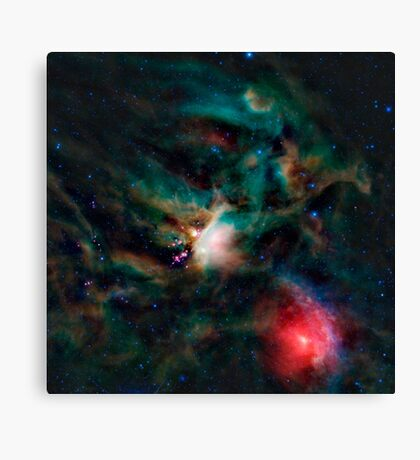 The Rho Ophiuchi cloud complex. Canvas Print