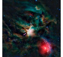 The Rho Ophiuchi cloud complex. Photographic Print