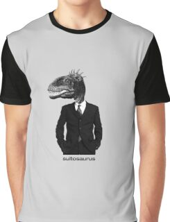 The Saurus Society - No Extinction Theory - Suitosaurus Graphic T-Shirt