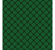 Lucky clovers for St. Patrick's Day parade. Ireland. Hearts. Green. Photographic Print