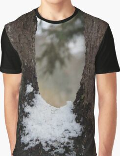 Through Snow And Wood Graphic T-Shirt