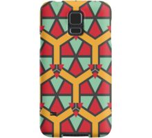 Honeycombs triangles and other shapes pattern Samsung Galaxy Case/Skin