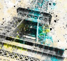 City-Art PARIS Eiffel Tower IV Sticker