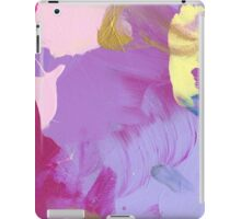 Abstract Painting in magenta and mauve 16/18 iPad Case/Skin
