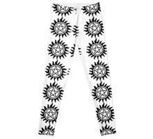 Supernatural Anti - Possession Symbol (3) Leggings