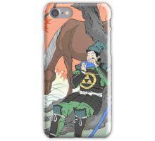 Old Japanese Legend of Zelda iPhone Case/Skin