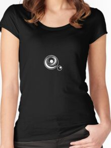 Circles within circles Women's Fitted Scoop T-Shirt