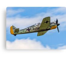 Flug Werk nachbau Fw 190A-8N F-AZZJ Canvas Print
