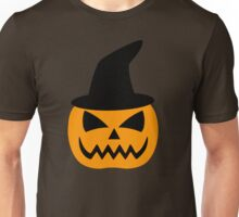 Jack-O-Lantern Pumpkin Hat Unisex T-Shirt