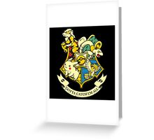 harry potter with pokemon Greeting Card