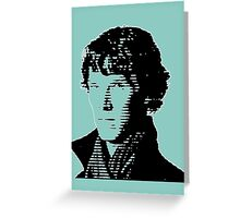 Sherlock Shadow Greeting Card