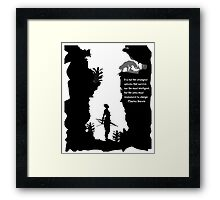 Strong Creatures Framed Print