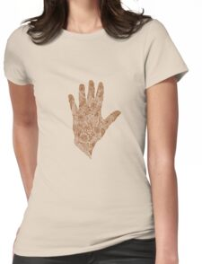 HennaHandHenna Womens Fitted T-Shirt