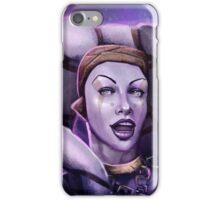 Alien Thief Girl iPhone Case/Skin