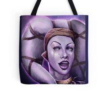 Alien Thief Girl Tote Bag