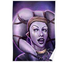 Alien Thief Girl Poster
