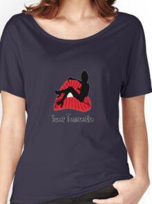 Lushy Lips  Women's Relaxed Fit T-Shirt