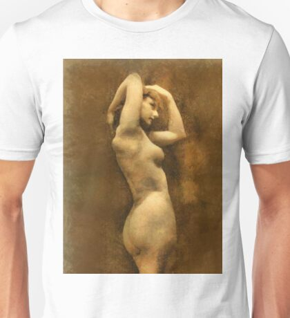 Vintage Nude by Mary Bassett Unisex T-Shirt