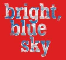 Bright, blue sky One Piece - Long Sleeve