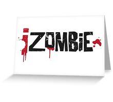 iZombie logo Greeting Card