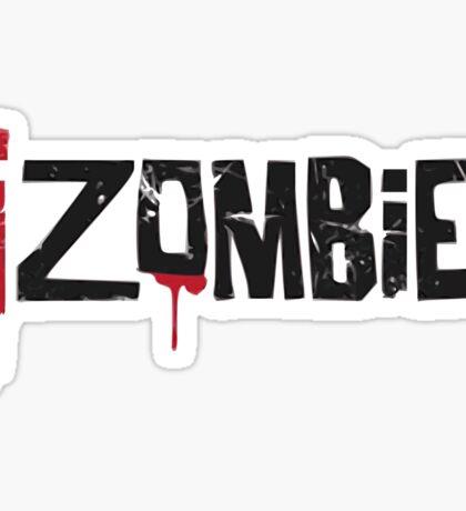 iZombie logo Sticker