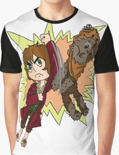 Bilbo vs Wicket.  Graphic T-Shirt