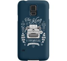 The King of Typewriters Samsung Galaxy Case/Skin