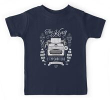 The King of Typewriters Kids Tee