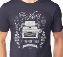 The King of Typewriters Unisex T-Shirt