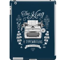 The King of Typewriters iPad Case/Skin