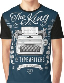 The King of Typewriters Graphic T-Shirt