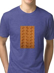 Retro Orange One Tri-blend T-Shirt