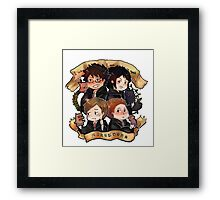 HP - Marauders Framed Print
